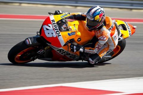 Dani Pedrosa - Q&A (Austin MotoGP Test)