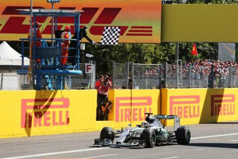 Hamilton multiplies lead after Rosberg DNF