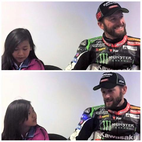 Shaina interviews Tom Sykes!