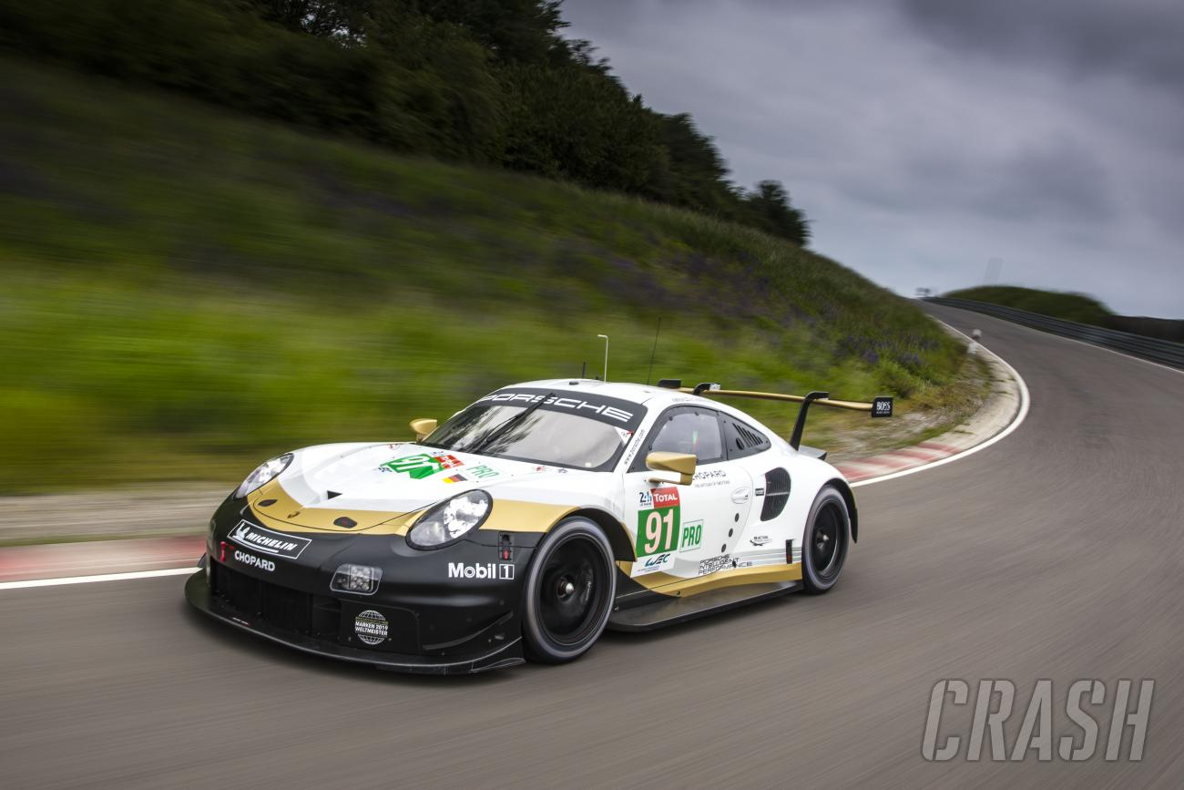 Porsche reveals WEC title celebration livery for 24 Hours of