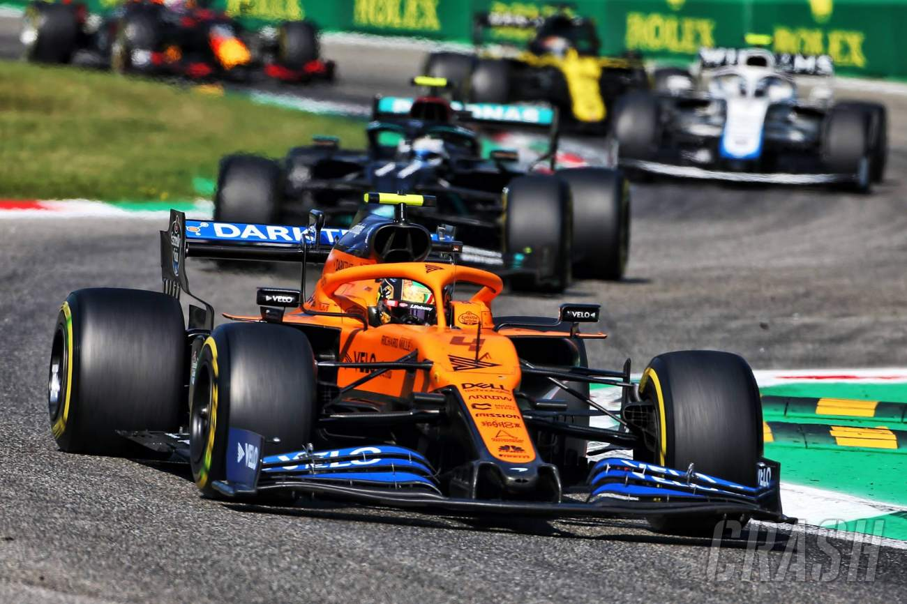 F1 Italian Grand Prix 2020 Race Results