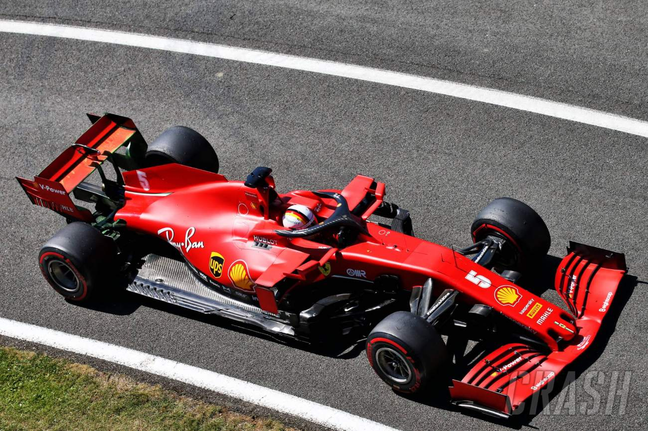 Vettel Doesn T Expect Miracles From New Ferrari F1 Chassis