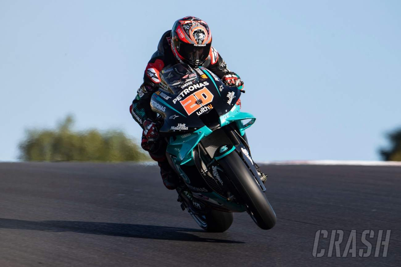 Fabio Quartararo: Sad end to memorable MotoGP season