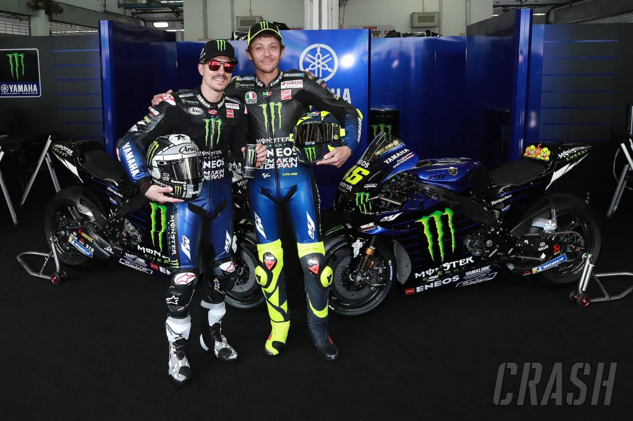 Rossi, Vinales reveal Monster Energy Yamaha 2020 MotoGP livery ...