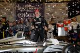 IndyCar: Newgarden charges to late Phoenix IndyCar win