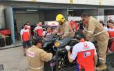 MotoGP: 'Try and avoid the bike' - Miller, Petrucci near miss