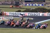 MotoGP: MotoGP, race start, Petrucci, Ducati, Australian MotoGP,