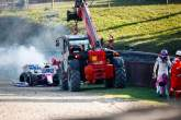 Perez could miss out on Russia upgrades after Stroll's F1 crash