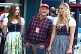 F1: Niki Lauda, grid girl,