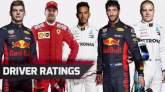 F1: F1, Driver ratings,
