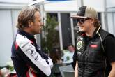 Adam Parr, Chief Executive Officer, Williams F1 Team & Kimi Raikkonen (FIN) Lotus F1 Team