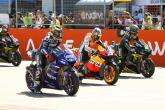 Lorenzo, Pedrosa, Crutchlow, Aragon MotoGP 2012