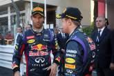 , - 26.05.2013- Race, Mark Webber (AUS) Red Bull Racing RB9 and Sebastian Vettel (GER) Red Bull Racing R