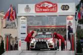 19.01.2014- Podium, Massimiliano Rendina (ITA) Mario Pizzuti (ITA), Mitsubishi Lancer Evo X
