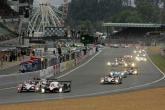 , - Le Mans 2007, Race Start - Peugeot leads