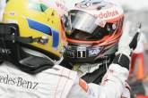 , - Lewis Hamilton (GBR) McLaren MP4-23 Pole Position, Heikki Kovalainen (FIN) McLaren MP4-23 2nd, Austr