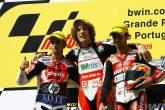 Barbera, Simoncelli, Di Meglio, Portuguese 250GP 2009