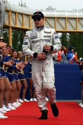 Kimi Raikkonen (FIN) McLaren San Marino Grand Prix, Formula One, Sunday , 24/04/05, Imola, Italy .