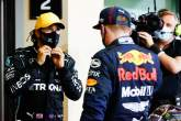 (L to R): Lewis Hamilton (GBR)