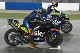 Luca Marini, practice start, MotoGP, Qatar MotoGP test, 5 March 2021