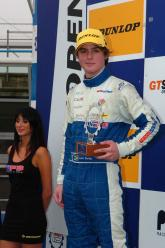 Liam Venter powers through to historic Monza podium