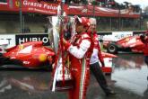 Ferrari salute Massa