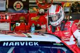 Harvick on pole for Darlington Cup race