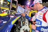 Johnson back in victory lane at Charlotte