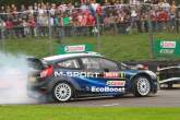 Elfyn and Gwyndaf Evans steal the show at Rallyday