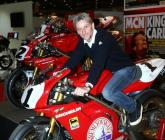 Fogarty and company gather for London Motorcycle Show