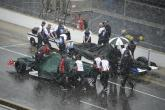 Indy 500: Downpour forces qualifying postponement