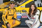 Kenseth on Cup pole in good night's work for Toyota