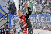 Fuel run powers Buescher to victory lane at Dover