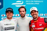 Vergne grabs pole from Piquet Jr in Moscow