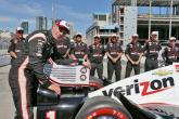 Penske's Power on pole position in Toronto
