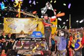 Custer wins after Jones and Crafton crash out