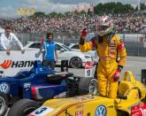 Giovinazzi maintains composure to win at Norisring