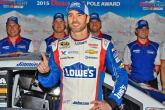 Johnson claims penultimate 2015 pole at Phoenix