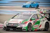 Huff begins Honda tenure with dominant win