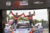 Paddon beats Ogier to claim historic maiden win in Argentina