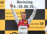 Muller 'overjoyed' with maiden DTM victory