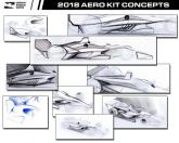 Dallara signs IndyCar deal as 2018 concept drawings released