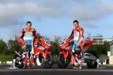Road Racing: Honda Racing riders John McGuinness and Guy Martin