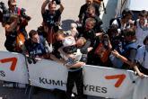 Euro: Magnussen takes first win
