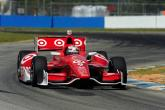 Franchitti tops practice 3 on drying track