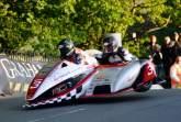 TT2012: Tuesday practice halted following Sidecar crash
