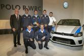 VW presents Polo R WRC, eager to get 'stuck in'
