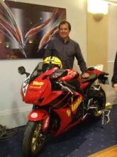 McGuinness unveils Joey Dunlop charity prize