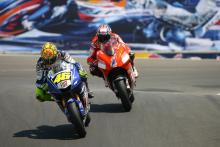 Rossi: Furious battle against Stoner crucial for 2008 Laguna Seca win