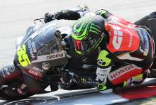 Crutchlow: 'Foot in air' during fall, 'Vinales flying'
